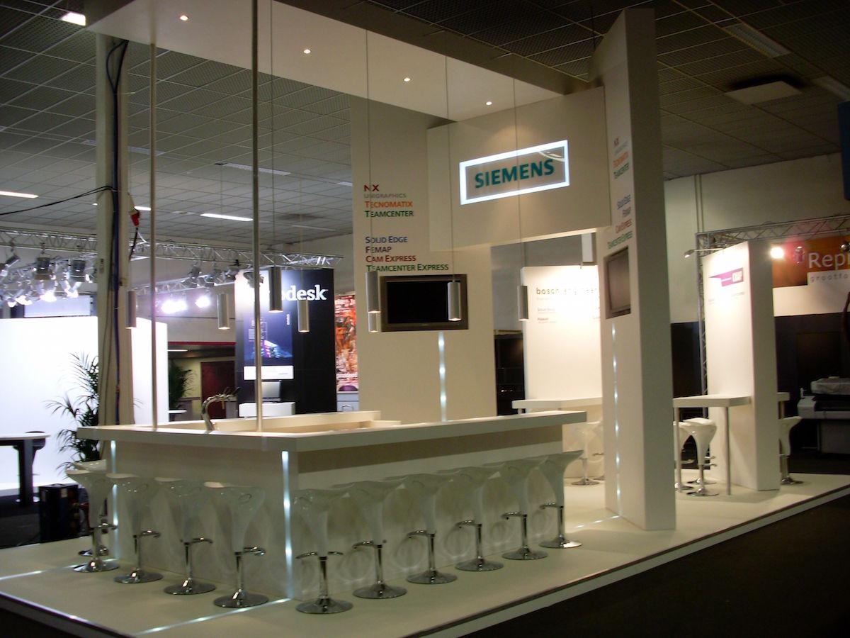Siemens stand