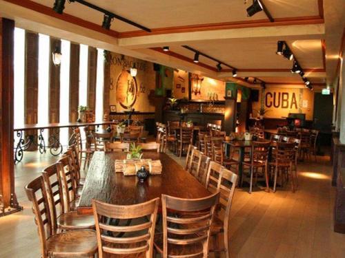 Cubaanse stijl restaurant