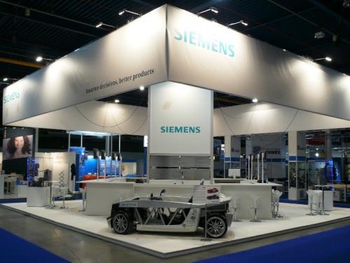 Stand Siemens Jaarbeurs Utrecht